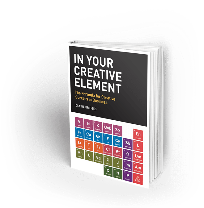 In Your Creative Element hardback book