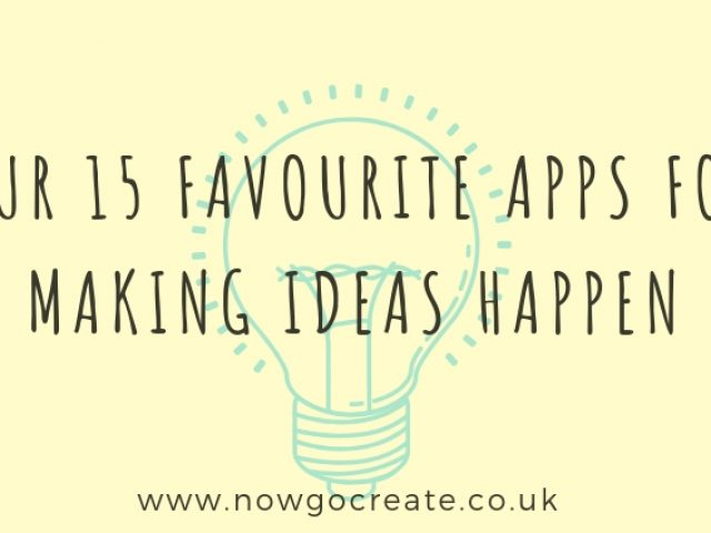 Our top 15 favourite creativity apps - part 1