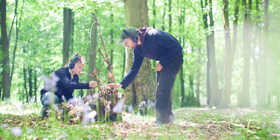 Your invitation to a nature trail, a treasure hunt, a walking party & immersive theatre