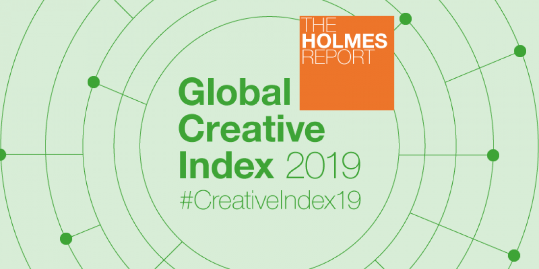 Global giants hold strong in creative index