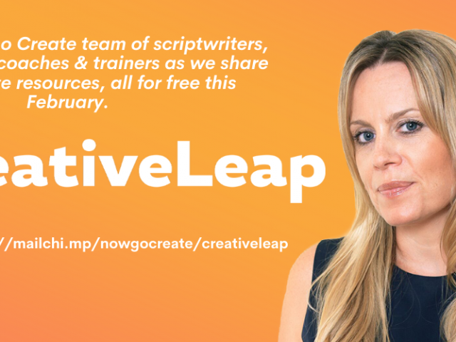 The Creative Leap is 2 weeks in - where have you been?