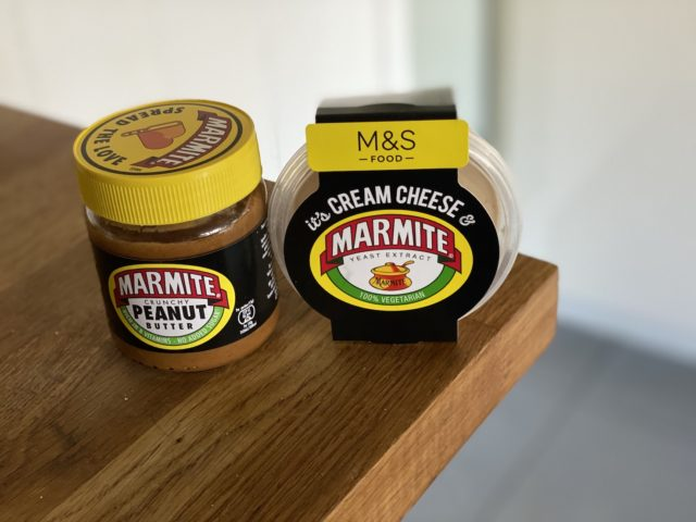 Marmite and cream cheese? A winning combination