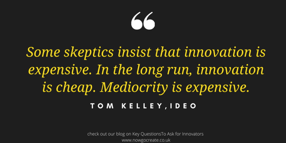 Key questions to drive innovation